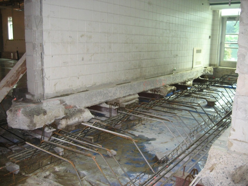 High School Slab on Grade Settlement Evaluation and Permanent Structural Slab Repairs