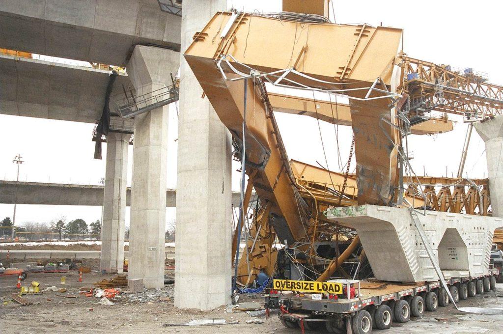 Collapse of the I-280 Maumee River Bridge Launching Gantry in Toledo, Ohio