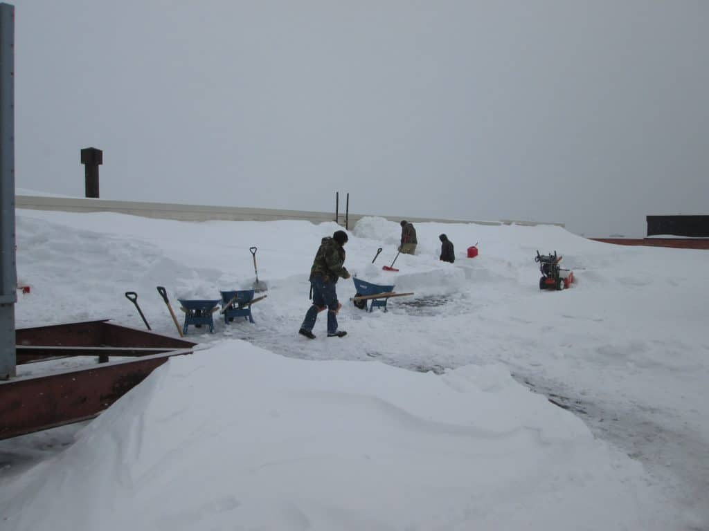 Impact of heavy snow accumulation on roof serviceability
