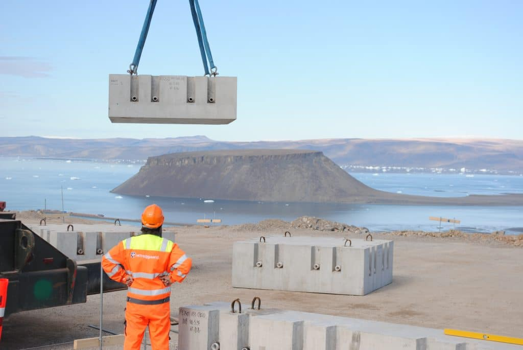 Design and Fabrication of Precast Segmental Concrete Foundations in the U.S. and Erection in the Remote Arctic