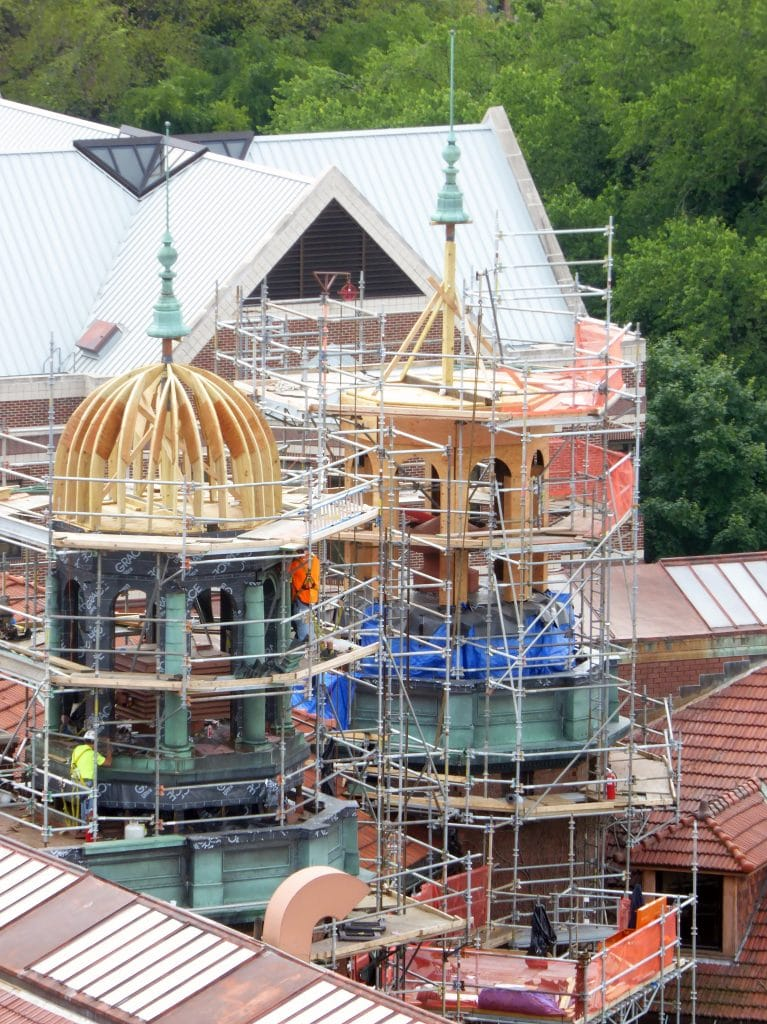 Restoration of 100-Year-Old Domed Roof