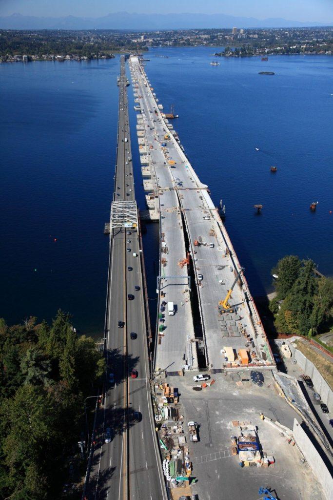 Decommissioning of the SR520 Floating Bridge, Seattle, WA