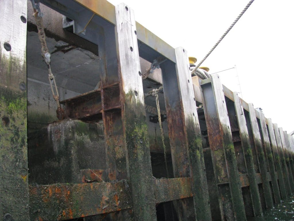 Investigation and Initial Stability Analysis of a Wharf on Severely Deteriorated Steel H-Piles
