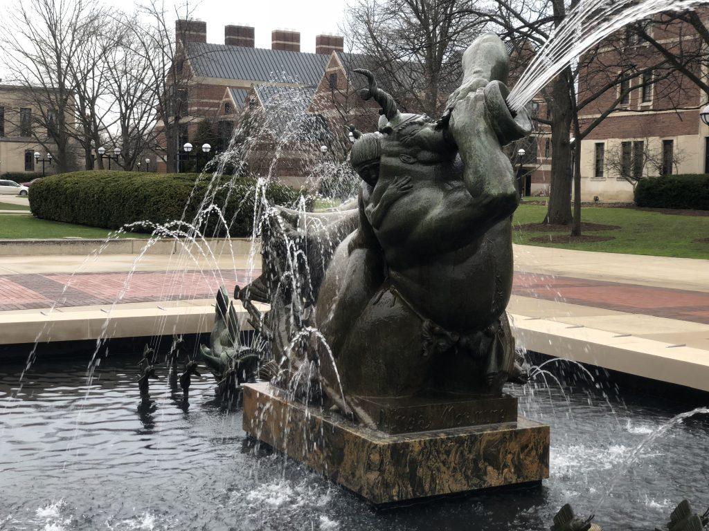 Restoring a Landmark Fountain at the University of Michigan