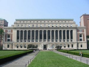 Butler Library, Columbia University, New York, NY