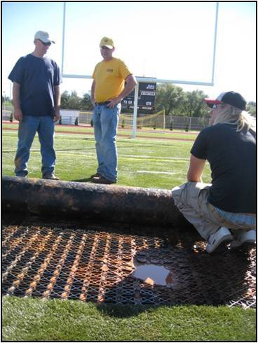 Drainage of Artificial Turf Systems