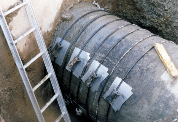 Rerounding of Deflected Buried Pipe Subjected to Internal Pressure