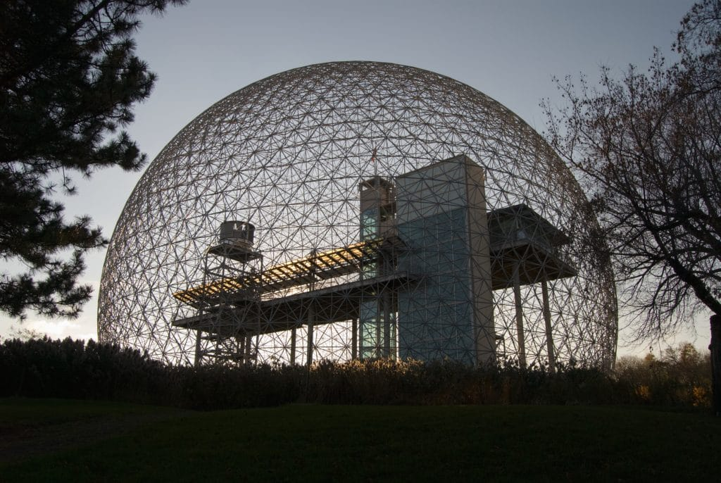 U.S. Pavilion at Expo '67 World's Fair