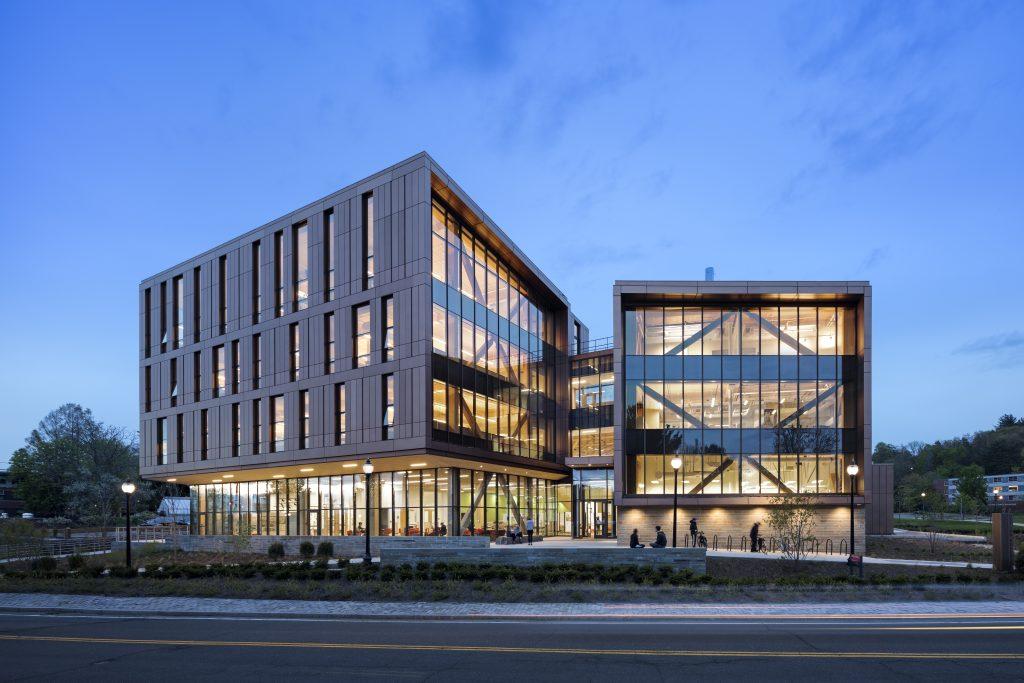 UMass Design Building Wins AEI's 2017 Most Innovative Project Award