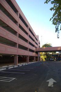 Parking structure, Manhattan College Parking Garage, Bronx, NY